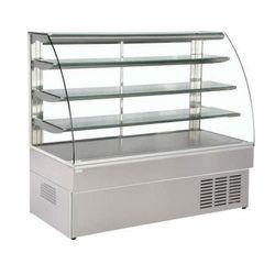 Grey Glass Cold Display Counter