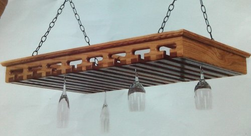 Tulsi Arts Hanging Wine Gl Racks