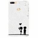 Cute Couple Micromax Mobile Silicon Back Cover