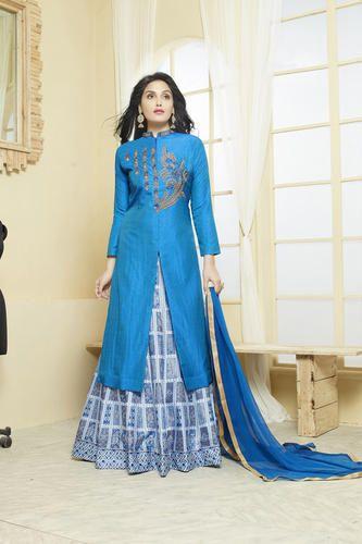 New Latest Designer Party Wear Indo Western Dress