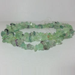 Natural Fluorite Gemstone Uncut Chip Beads