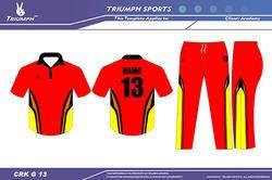 Color Cricket Uniforms