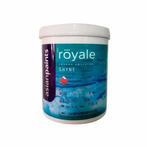 Asian Paints Royale Shyne Luxury Emulsion Pack Size 1 Litre Rs 250 Litre Id 20761294362