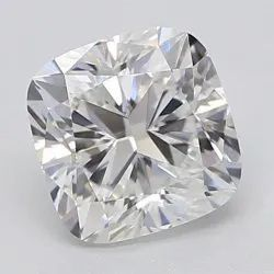 Best Quality Cushion Cut White Colorless Moissanite Stone