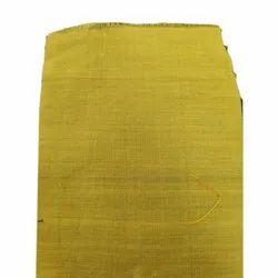 Khadigi Plain Yellow Soy Silk Fabric