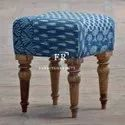Vintage Living Room Furniture - Buoyant Style Small Footstool for Hotel
