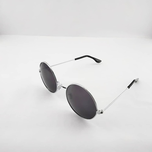 1cc2fa59f Black Lens Silver Round Frame Sunglass, Size: Medium, Rs 35 /piece ...