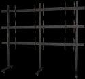 Iman Multiple Tv Cart Video Wall Floor Stand 3x3