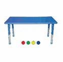 Blue Playpro Playschool Rectangular Plastic Table