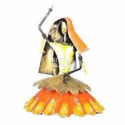 Kiyoshi Iron Metal Dancing Doll