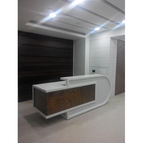 Corian Office Reception Table