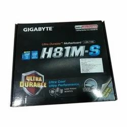Gigabyte H81M-S- Computer Mother Board for Desktop