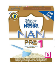 Nestle Nan Pro 1 Infant Formula - 400 gm Baby Food