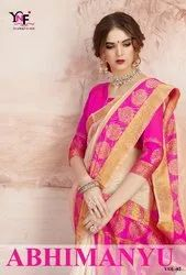 Abhimanyu Vol 2 Chanderi Cotton Saree