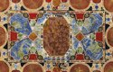 Stone Marble Inlaid Coffee Table Top Pietra Dura Art Work