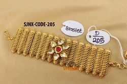 Designer Bracelets - Kundan Adjustable Bracelet Exporter