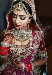 Bridal Makeup Services.