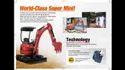 New Kubota Hitach Mini Excavator