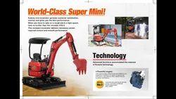 Tata Hitach Mini Excavator