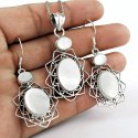 African Amethyst 925 Sterling Silver 4 Piece