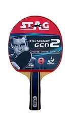 Table Tennis Racket Peter Karlsson Carbon