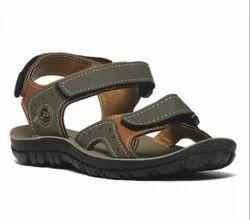 Paragon Boys Olivegreen P-toes Casual Sandals
