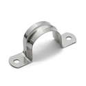 Stainless Steel Two Hole Steel Rigid Conduit Strap, For Electric Conducting