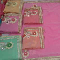 Fancy Hand Embroidered Sarees