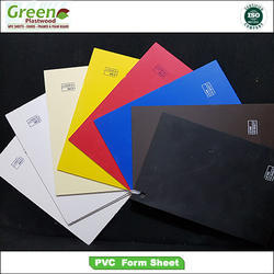 Green Plastwood Plain PVC Foam Board, Thickness: 1 to 5 mm