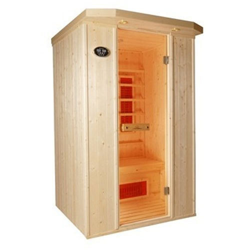 Single person infrared sauna