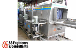 Conveyor Crate Washer for Medical Waste Removal