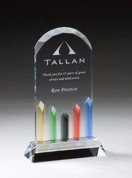 Tallan Acrylic Trophy