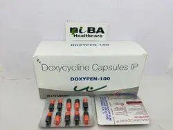 Doxycycline Capsules Doxypen 100