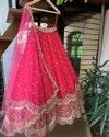 Georgette Embroidery Wedding Lehenga