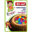 Chocolate Instant China Grass Mix Milk Jelly
