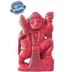 Coral Hanuman Idol