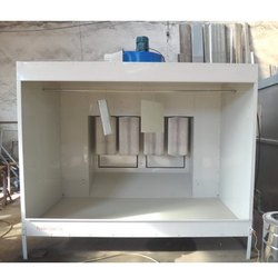 Spray Booth With Four Filter