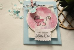 Paper Box Invite Baby Shoewer Invitation Card
