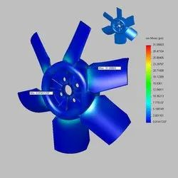 Product Analysis(Finite Element Analysis (FEA & CFD)