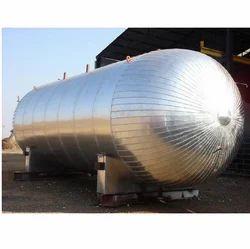 Silver Color ISO Tanks, Capacity: 10-20 ton