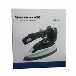 SILVER STAR electric steam iron, Model Name/Number: Es-300, 220v-50/60hz