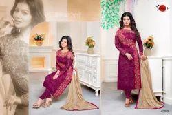 Full Sleeve Mafeeza Salwar Suit