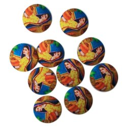 Printed Garment Buttons