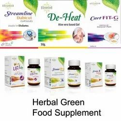 Herbal Green Food Supplement