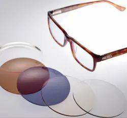 High R I Eyeglass Frame