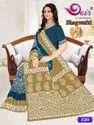Cotton Mulmul Batik Print Saree