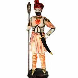 Fiber Darban Decorative Statue, For Decoration