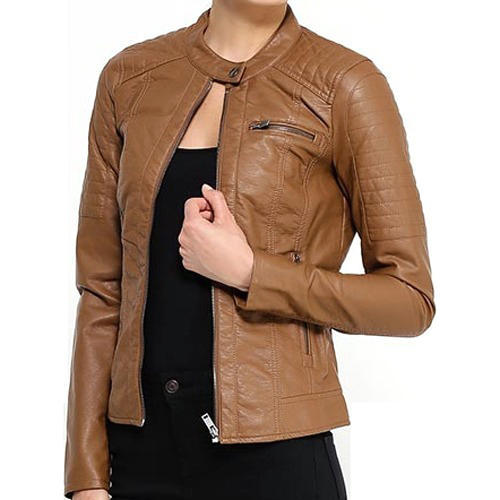 e7e93cec6e3 Ladies Leather Jacket at Rs 4500  piece
