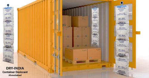 Container Desiccant Strip