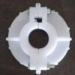 WHITE PP PVC Bore Cap